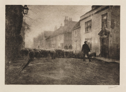'Village Under the South Downs', 1901.