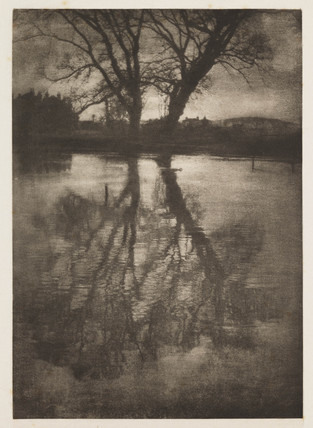 'Reflections', 1899.