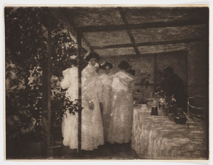 The Buffet', 1907.