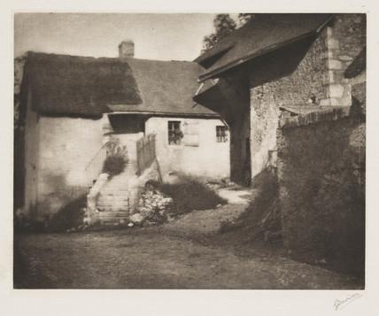'Cottages Near Aix les Bains', 1907.