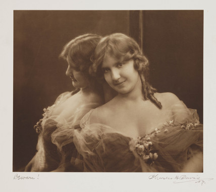 'Beware!', c 1910.