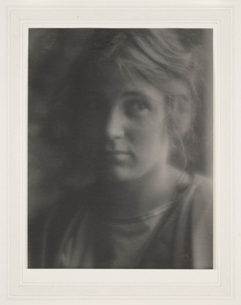 'A Head' [Beatrice Baxter Ruyl], 1905.