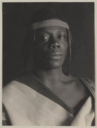 'An Ethiopian', c 1897.