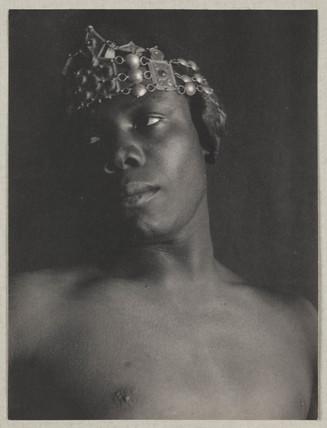 'Ethiopian Head Crowned', c 1897.