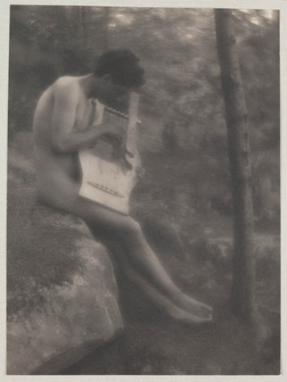 'Nude Youth with Lyre', 1907.