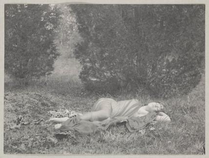 'Nymph Asleep', 1897.