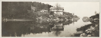 Fred Holland Day's country house, Little Good Harbor, 1912.
