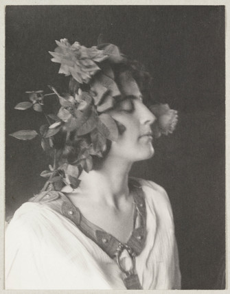 'Model with Lily', c 1897.