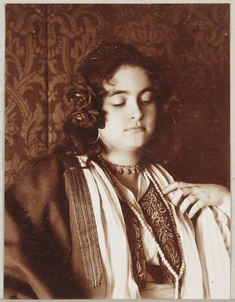 'Girl, Half Length', c 1905.