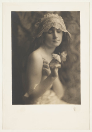 'Girl and Butterfly', c 1915.