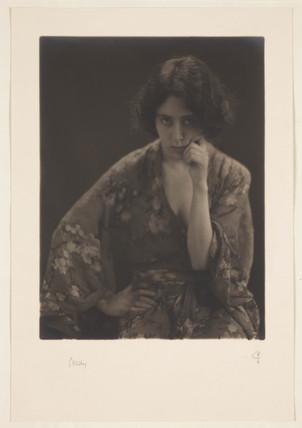 'Study', c 1915.