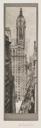 'Singer Building, New York', c 1910.