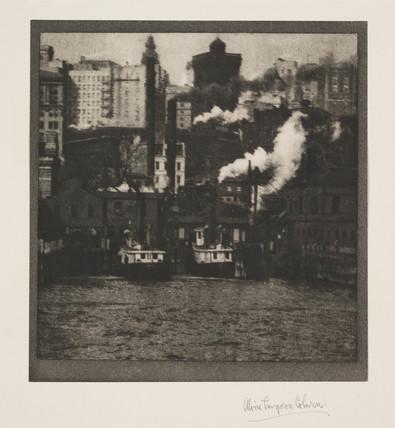 'New York Ferry', c 1908.