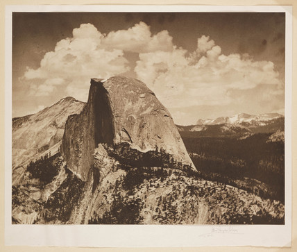 'The Half Dome Yosemite Valley', c 1911.