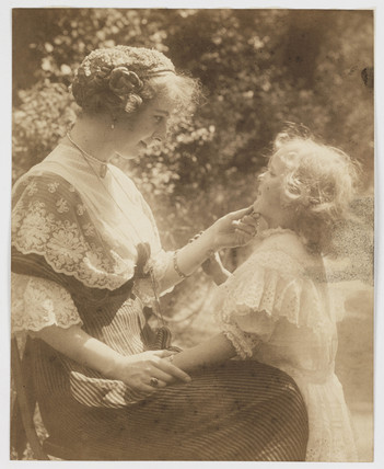Mother and child, c 1908.