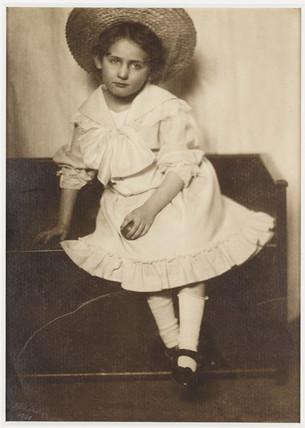 Portrait of a child, 1906.