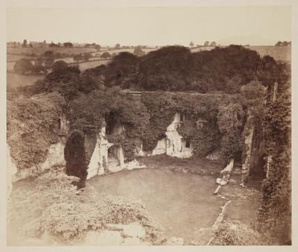 'Raglan Castle, Monmouth', c 1859.