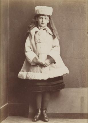Xie Kitchin, c 1876.
