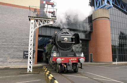 LNER steam locomotive 4-6-2 No 4472 'Flying Scotsman' at NRM, 14 July 2004.