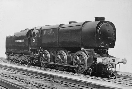 Southern Railway 'Austerity' Class Q1 0-6-0 No C1, c 1942.
