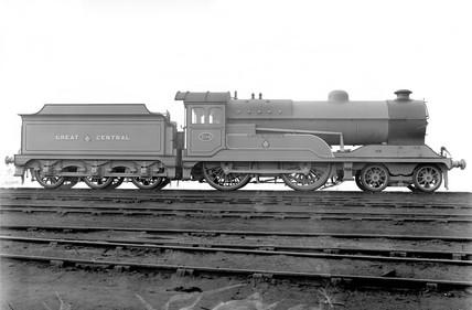 'Butler Henderson', GCR 'Director' class locomotive, 1920.