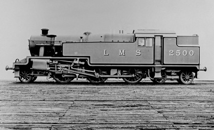 LMS Class 4P three-cylinder 2-6-4T locomotive, c 1934.