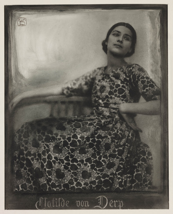 Clotilde von Derp-Sakharoff, German dancer, 1912.
