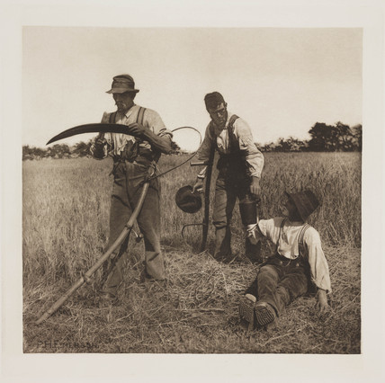'In The Barley Harvest', 1888.