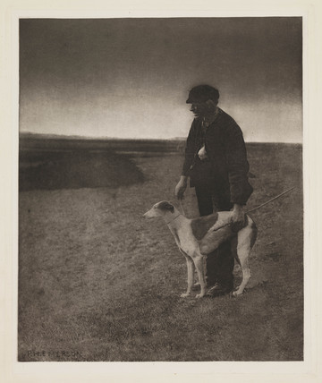 'The Poacher - A Hare in View', 1888.