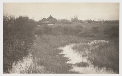 'The Fringe of the Marsh', 1887.