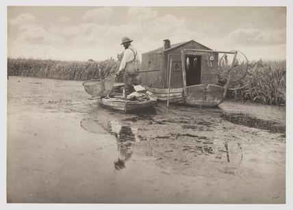 'An Eel Catcher's Home', 1887.
