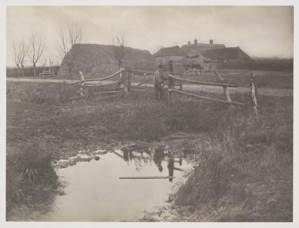 'A Marsh Farm', 1887.