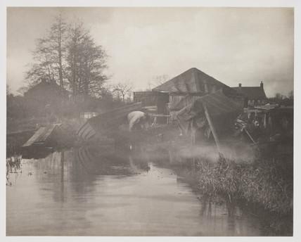 'A Norfolk Boat Yard', 1887.