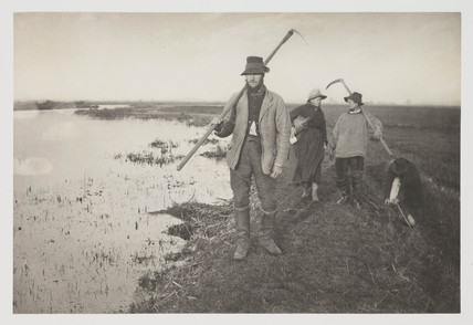 'Coming Home from The Marshes', 1887.