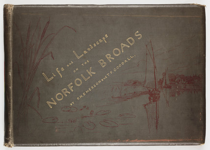 Cover of 'Life and Landscape on the Norfolk Broads', 1887.