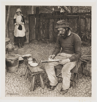 'A Fisherman At Home', 1887.