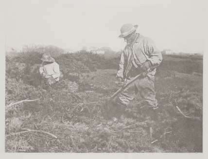 'Furze-Cutting on a Suffolk Common', 1888.