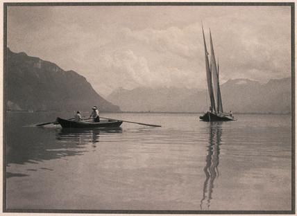 Off Montreux, c 1905-1910.