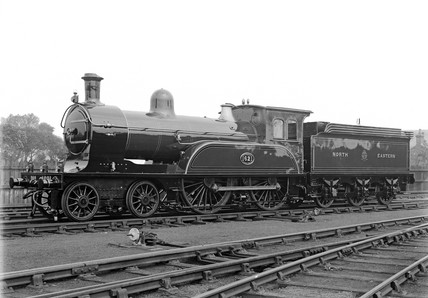 Wordsell 4-4-0 locomotive.