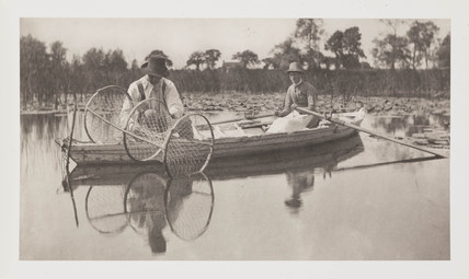 'Setting The Bow-net', 1886.