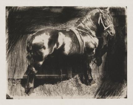 'The Horse', c 1890.