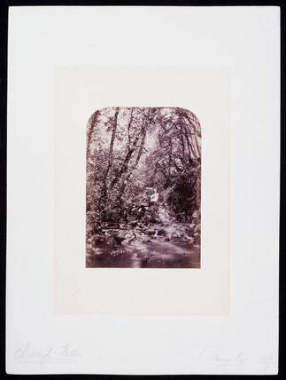 'Chudleigh Falls', c 1900.