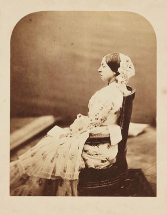 Queen Victoria, c 1856.