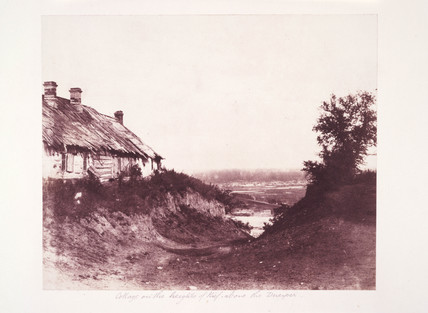 'Cottage on the Heights of Kief, Above the Dnieper', 1852.