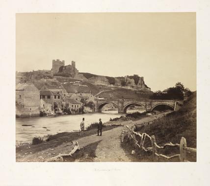 Richmond Castle, c 1854.
