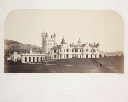 'Balmoral Castle', c 1856.