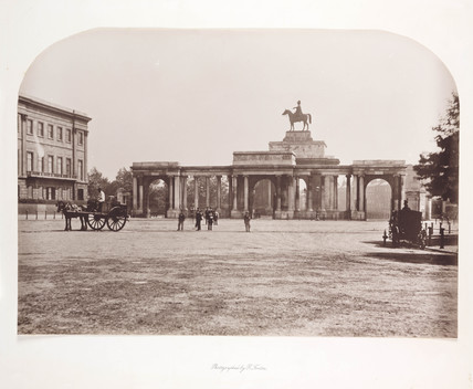'Hyde Park Corner', c 1856.