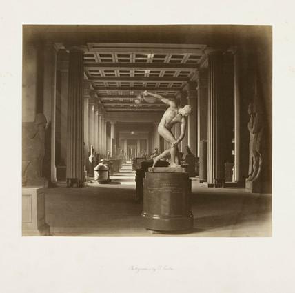 'Discobolus', c 1857.