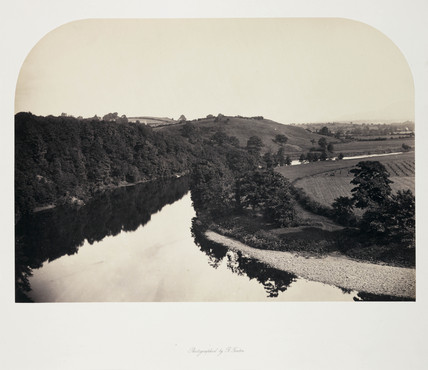 'View on the Ribble, Yorkshire', c 1858.
