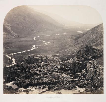 'Nant Ffrancon Pass', 1857.